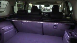 Mitsubishi Outlander подсветка багажника
