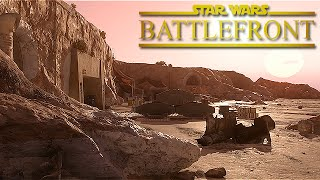 STAR WARS Battlefront Gameplay - Survival Mode: Rebel Depot [Max Settings - 1080p60]