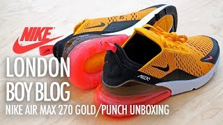 factory price 6a260 51640 Download Nike Air Max 270 GoldPunch Unboxing