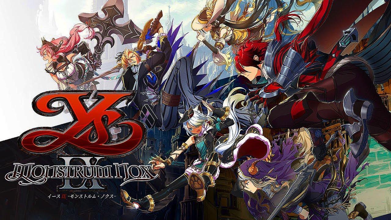 Ys IX: Monstrum Nox | New Gameplay and Screenshots HD - Playstation 4 2019
