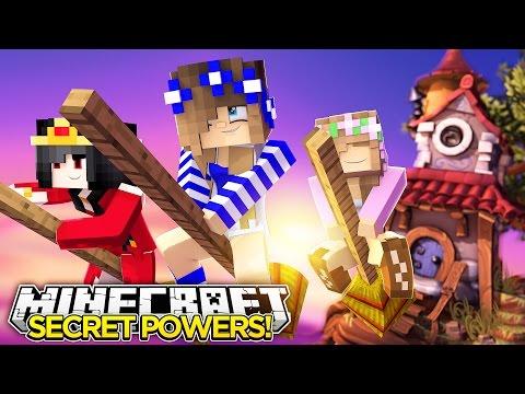 Minecraft Royal Family-LITTLE CARLYS SECRET POWERS!!