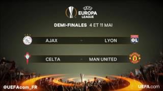 Tirage au sort demi finale Europa League 2017