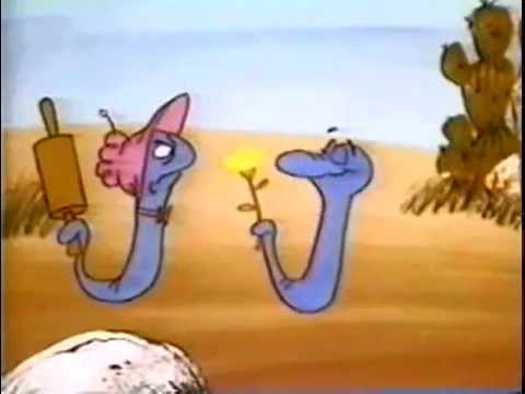 Hiss and Hers - Blue Racer Cartoon - 1972