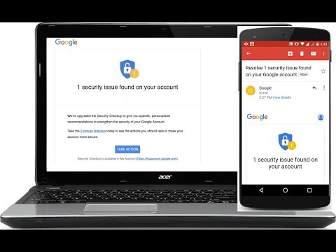 How to Fix Security Issue Found On your Google Account (Android/PC)