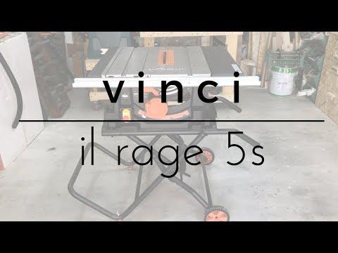 Vinci un banco sega Evolution RAGE 5 S