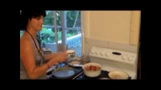 It's Simple Cooking Made Easy  Delicious Rhubarb Pie With Cream