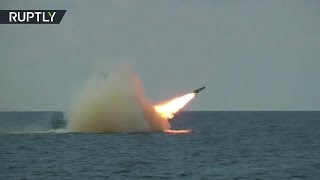 Baltic Fleet drills  Russian navy launches missile to develop air defense system