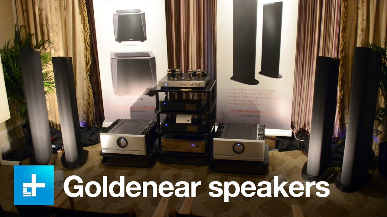 New Goldenear speakers and subwoofers - Ears On at CES 2016