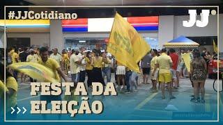 #JornalJangadeiro Confira a festa após vitória de José Sarto.