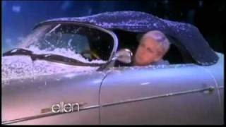 Justin Bieber Mistletoe with Ellen + JB