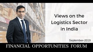 Views on the Logistics Sector in India