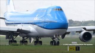 klm royal dutch airlines boeing 747 406 m ph bft city of tokyo