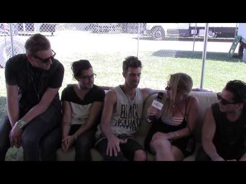 American Authors interview @ FireFly Music Festival