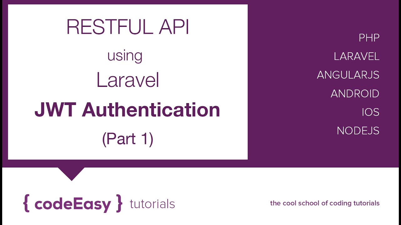 Create Restful API using Laravel 5 1 : JWT Authentication