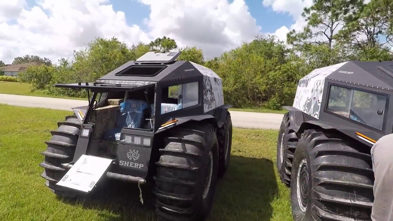 Sherp Atv For Sale >> Sherp in USA - YouTube