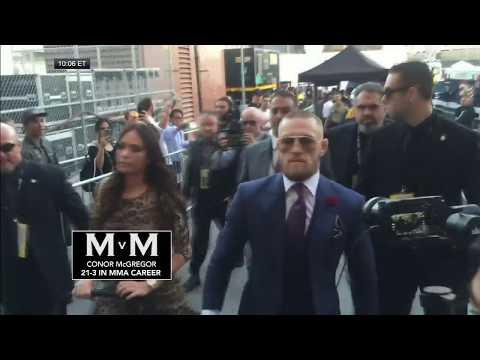 Mayweather and McGregor arrivals for megafight | ESPN