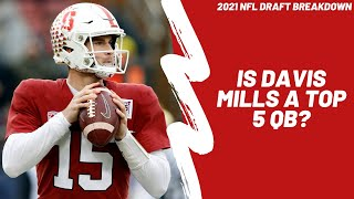 Should Davis Mills be considered a top 5 QB? Full 2021 NFL Draft Breakdown