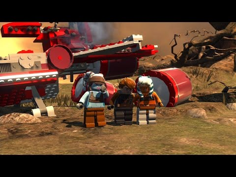 LEGO Star Wars III: The Clone Wars. #11. Defenders of Peace (Свободная игра, 100%)