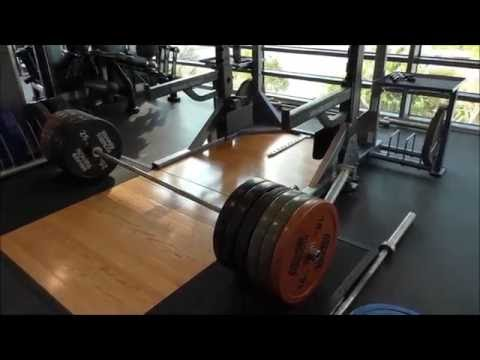 Bodybuilding life in Saudi Arabia 24 (Trénink zad s Johnem)