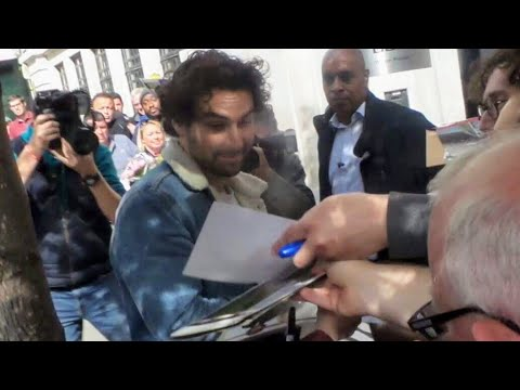 Aidan Turner in London 15 06 2018 1