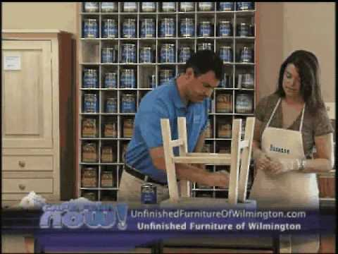 Unfinished Furniture Of Wilmington   YouTube