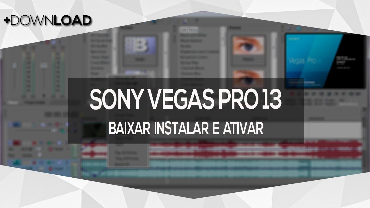 Baixar Sony Vegas Pro 13 Crack Torrent Grátis -