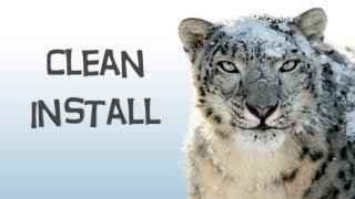 How To Do A Clean Install Of Snow Leopard