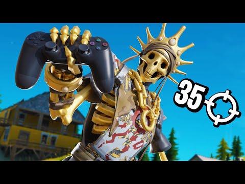 LINEAIRE GOD 35 KILLS SOLO VS SQUAD!!