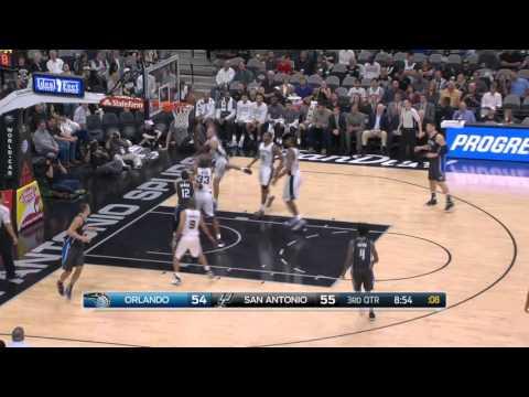 Orlando Magic vs San Antonio Spurs | February 1, 2016 | NBA 2015-16 Season