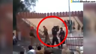 Shocking! India Pakistan Soldiers Fight During Ceremony At Border