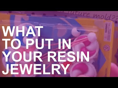 Ideas for Items to Include in Resin Jewelry