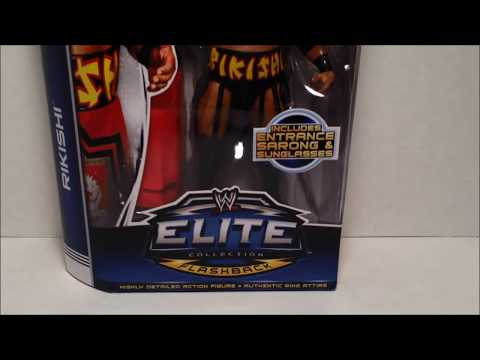 Mattel WWE Elite Flasback Rikishi Figure Review