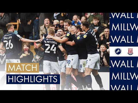 Millwall Stoke Goals And Highlights