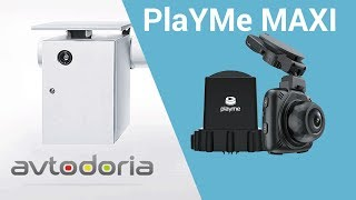 Радар-детектор с видеорегистратором PlayMe MAXI