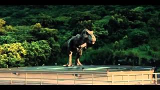 Jurassic World Ending scene