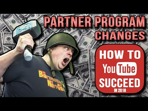 YouTube Partner Program Changes Might Actually Help Small Channels