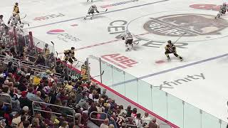 Chase Berger playing for the Wilkes Barre Scranton Penguins at Giant Center
