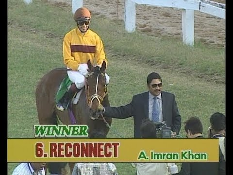 Reconnect ridden by A Imran Khan wins The Golconda Derby Stakes 2009