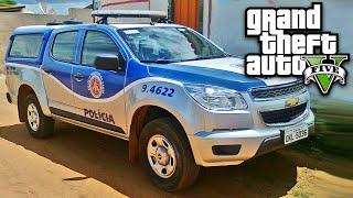 Perseguição Policial de Chevrolet S10 GTA V