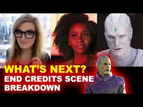 WandaVision Episode 9 Post Credit Scene BREAKDOWN - Monica & Skrull, White Vision - Beyond The