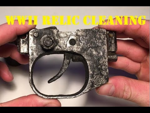 Cleaning WW2 Relics
