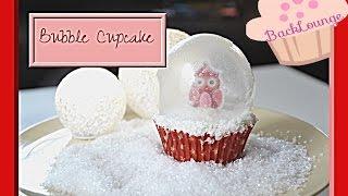 Bubble Cupcake / Schneekugel  / selber machen / Geschenkidee /Backlounge / Rezept / Tipps / 2015
