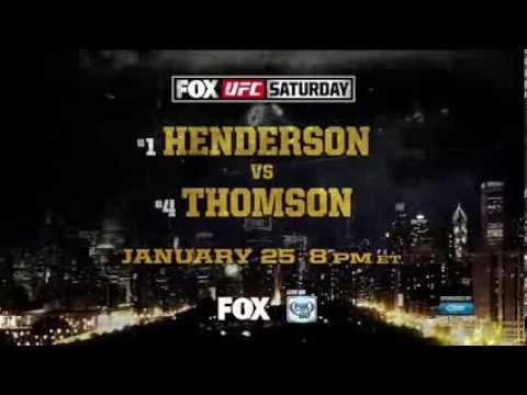 Henderson vs Thomson: UFC Tonight FREE Live Transmission