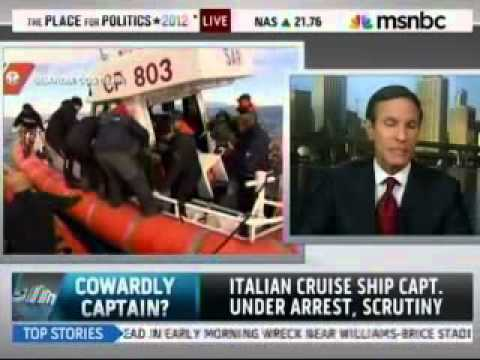 http://www.cruiseshipassault.com/ Maritime Lawyer Jack Hickey is interviewed on MSNBC about the captain's role in the Costa Concordia shipwreck.  A regional law firm located at:  1401 Brickell Ave Suite 510 Miami, Florida 33131  Toll Free:...