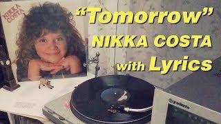Gambar cover Tomorrow  Nikka Costa  with Lyrics
