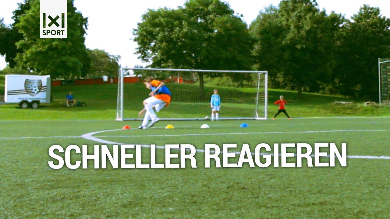 ⚽ Fußball-Torschussübung für Kinder - Farben-Wettschießen ...