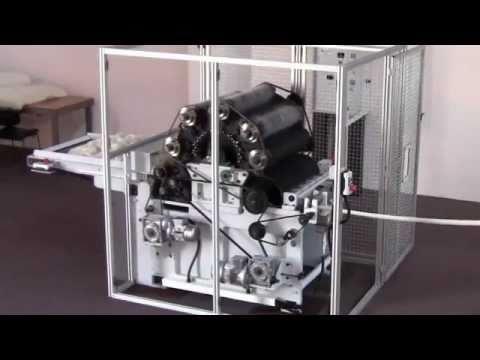 Carding Machine For Mini-mills And Laboratories