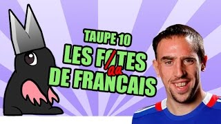 TOP 10 des FAUTES de français