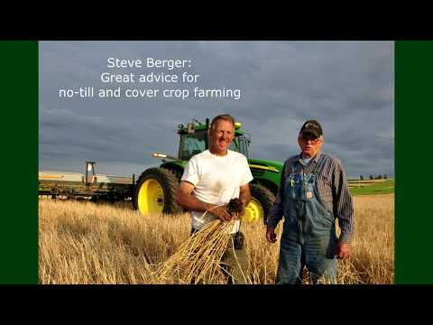 Steve Berger:  Using No-till and Cover Cropping for 38 years