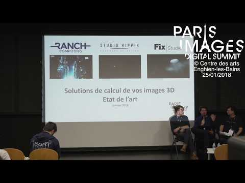Solutions de calcul de vos images 3D : état de l'art